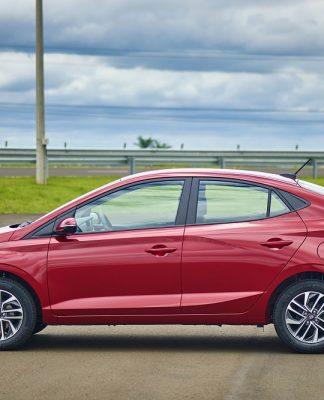 A Hyundai iniciou as exportações da nova geração do HB20