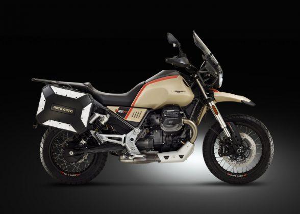 Moto Guzzi lança aventureira com toques retrô V85 TT Travel