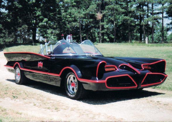 Batmóvel da série de TV dos anos 1960 era um Lincoln Futura