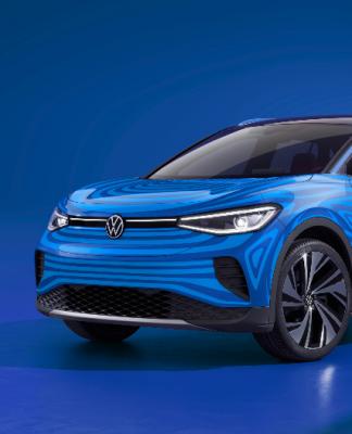 SUV elétrica ID.4 da Volkswagen evoluiu para sua versão de produção em série. Mas o novo modelo não virá para o mercado brasileiro