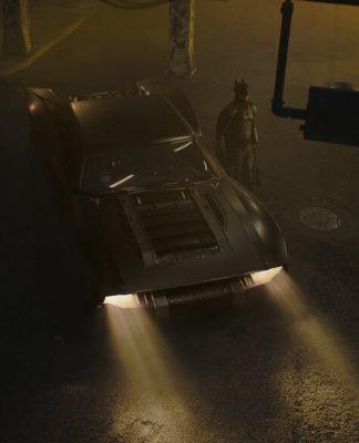 O novo Batmóvel divulgado pelo diretor do filme