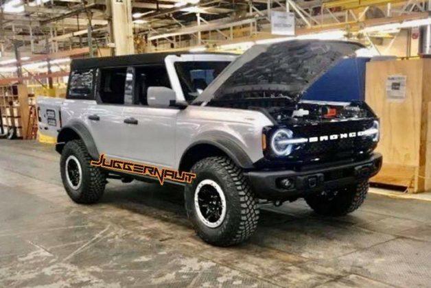 Ford cancelou o lançamento do Bronco, mantendo o mistério sobre o novo SUV
