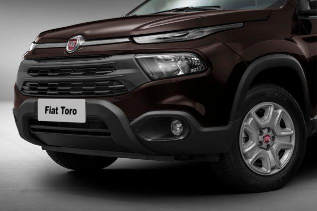 Fiat Toro com câmbio manual