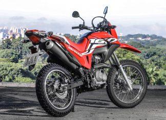 A nova Honda NXR que chega às concessionárias