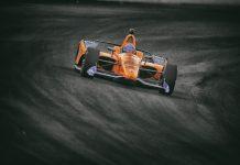 Fernando Alonso na classificação para a disputa da Indy 500 em 2019
