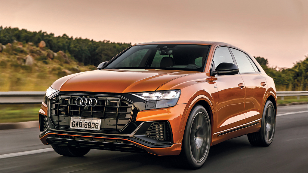Suv De Luxo Audi Q8 Motor Show