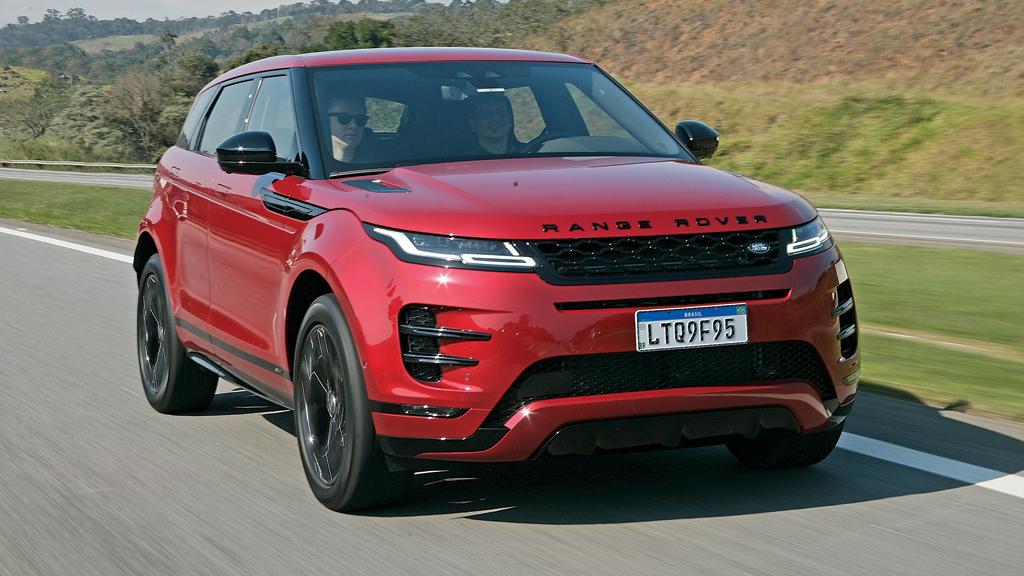 Suv Premium Range Rover Evoque Motor Show