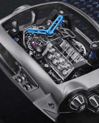 Relógio da Jacob & Co. inspirado no Bugatti Chirion custa R$ 1,5 milhão