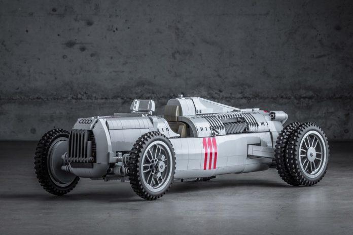 Lego deseja colocar em linha o Auto-Union Type C 1936