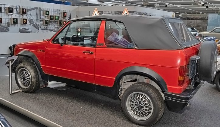 Volkswagen Golf 4x4