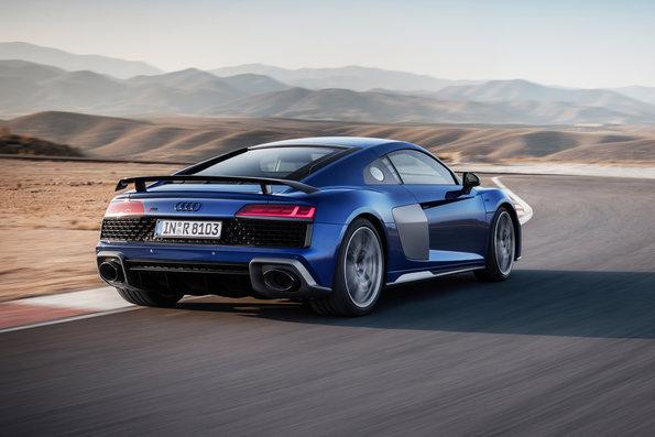 O superesportivo Audi R8 2021