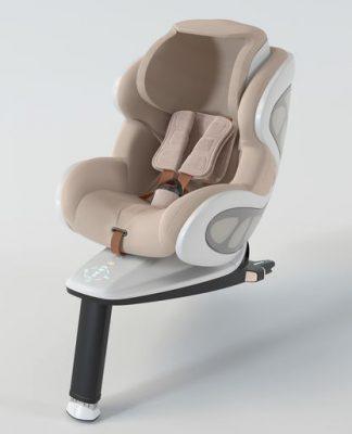 Baby Ark: a cadeirinha de bebê desenvolvida por ex-designer da McLaren