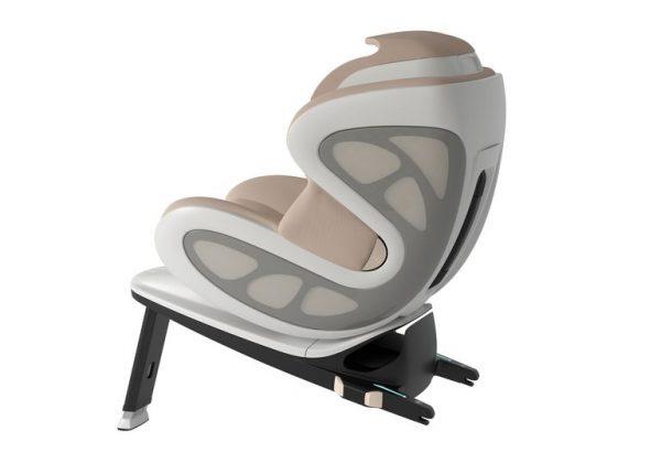 Ex-designer da McLares projetou ca cadeirinha de bebê batizada de Baby Ark