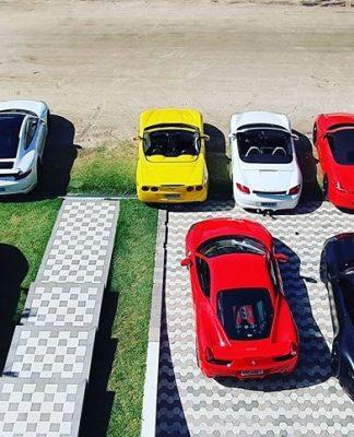 Ferraris, Prosches e Lambroghini na festa que revoltou os vizinhos