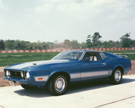 Ford Mustang Mach 1 1973 (2)