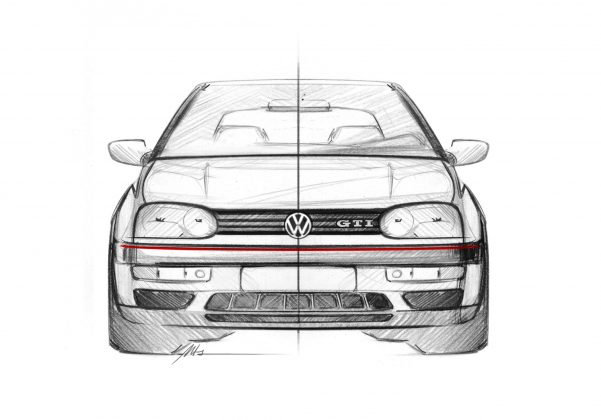 VW Golf GTI Mk 3