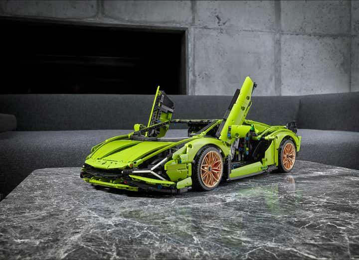 Lamborghini Sián FKP37 da Lego