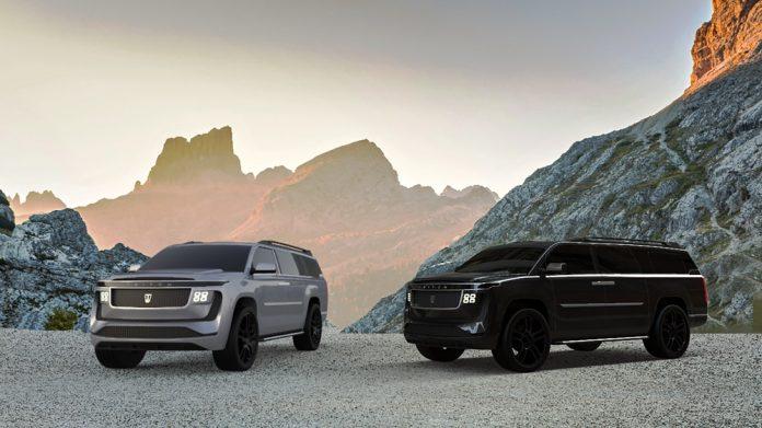O Triton Model H é um SUV elétrico rival do Cadillac Escalade que atinge 100 km/h em impressionantes 2,9 segundos