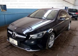 Leilão tem Mercedes CLA 2018 com 30% de desconto