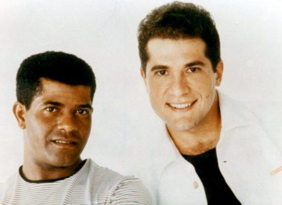 João Paulo (esq.) que fazia dupla com Daniel, morreu em 12 de setembro de 1997 em Franco da Rocha na região metropolitana de São Paulo