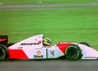melhor volta de Senna