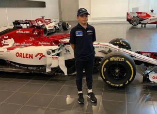 Emmo, filho de Emerson Fittipaldi é um dos jovens talentos da equipe Sauber/Alfa Romeo de F-1