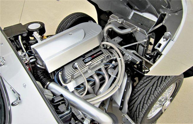 Motor é um Ford Performance V8 5.0