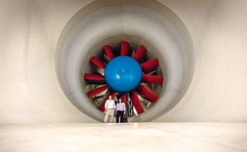 túnel de vento
