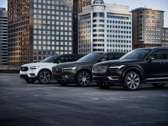 Volvo vai dar recarga grátis por um ano para proprietários de híbridos