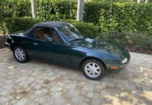 Mazda MX-5 Miata British Racing Green
