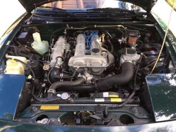Mazda MX-5 Miata British Racing Green