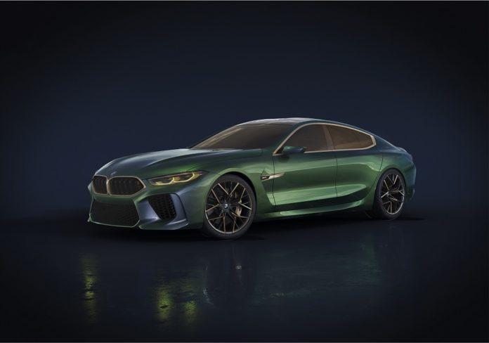 BMW M8 Gran Coupé First Edition