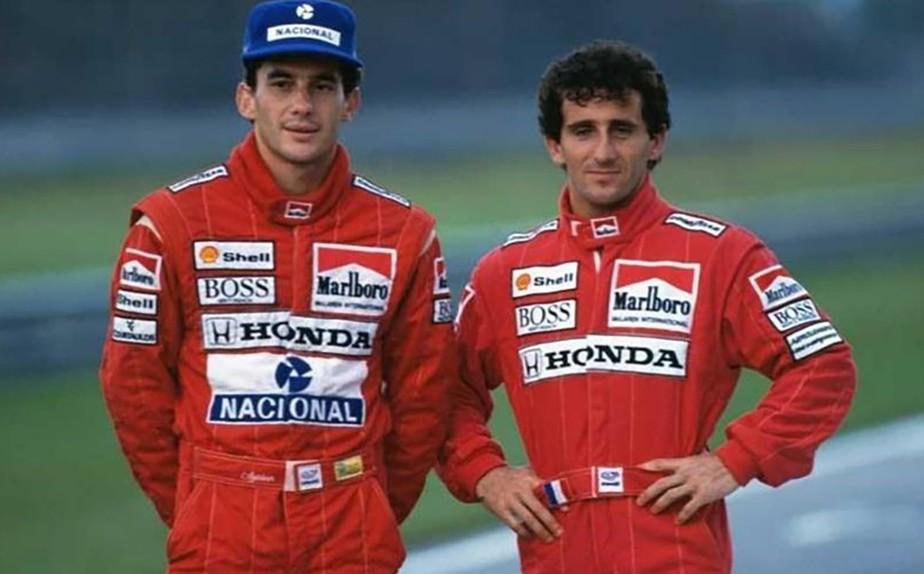 O dia em que o Tema da Vitória tocou para Prost - Motor Show