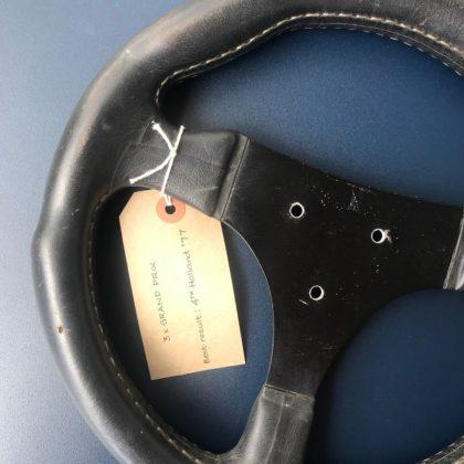Volante do Copersucar de Fittipaldi em 1977 é oferecido por R$ 40 mil