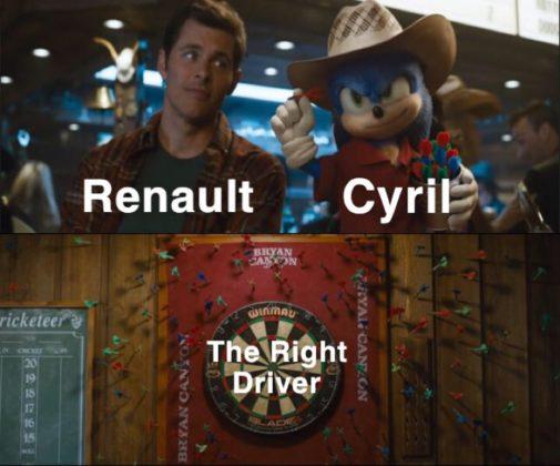Cyril Abiteboul, diretor da Renault não perde a esperança de achar um piloto veloz