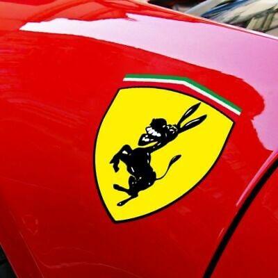 Imagem vazada do novo logo da Ferrari