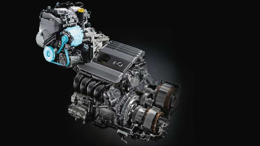 motores a combustão tipos de híbridos