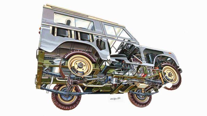 primeiro Land Rover