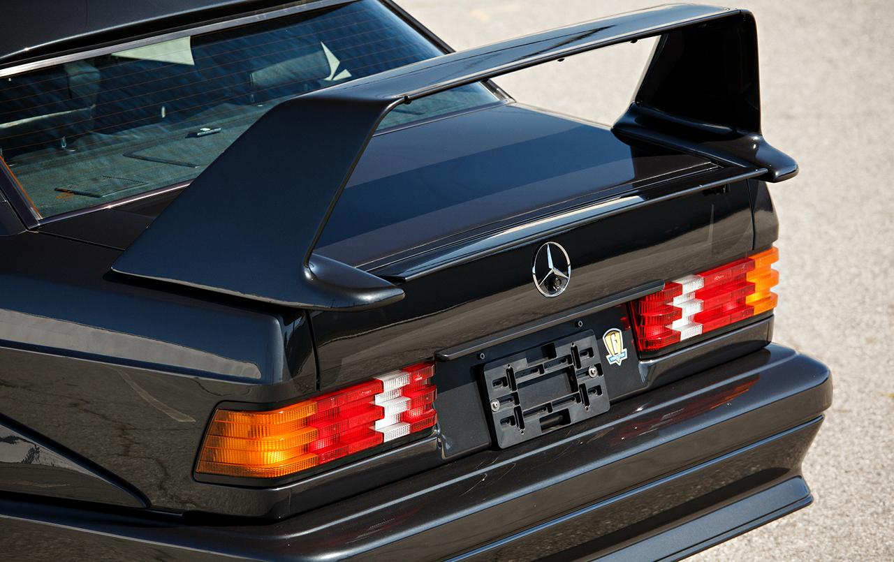 Raro Mercedes-Benz 190 E 2.5-16 EVO II já passa de R$ 1 milhão 036-18
