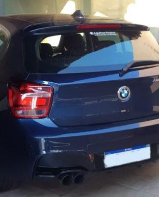 Polícia apreendeu BMW e mais dois carros do youtuber Eduardo Razuk