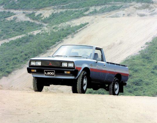 A história da picape Mitsubishi L200 completa 42 anos