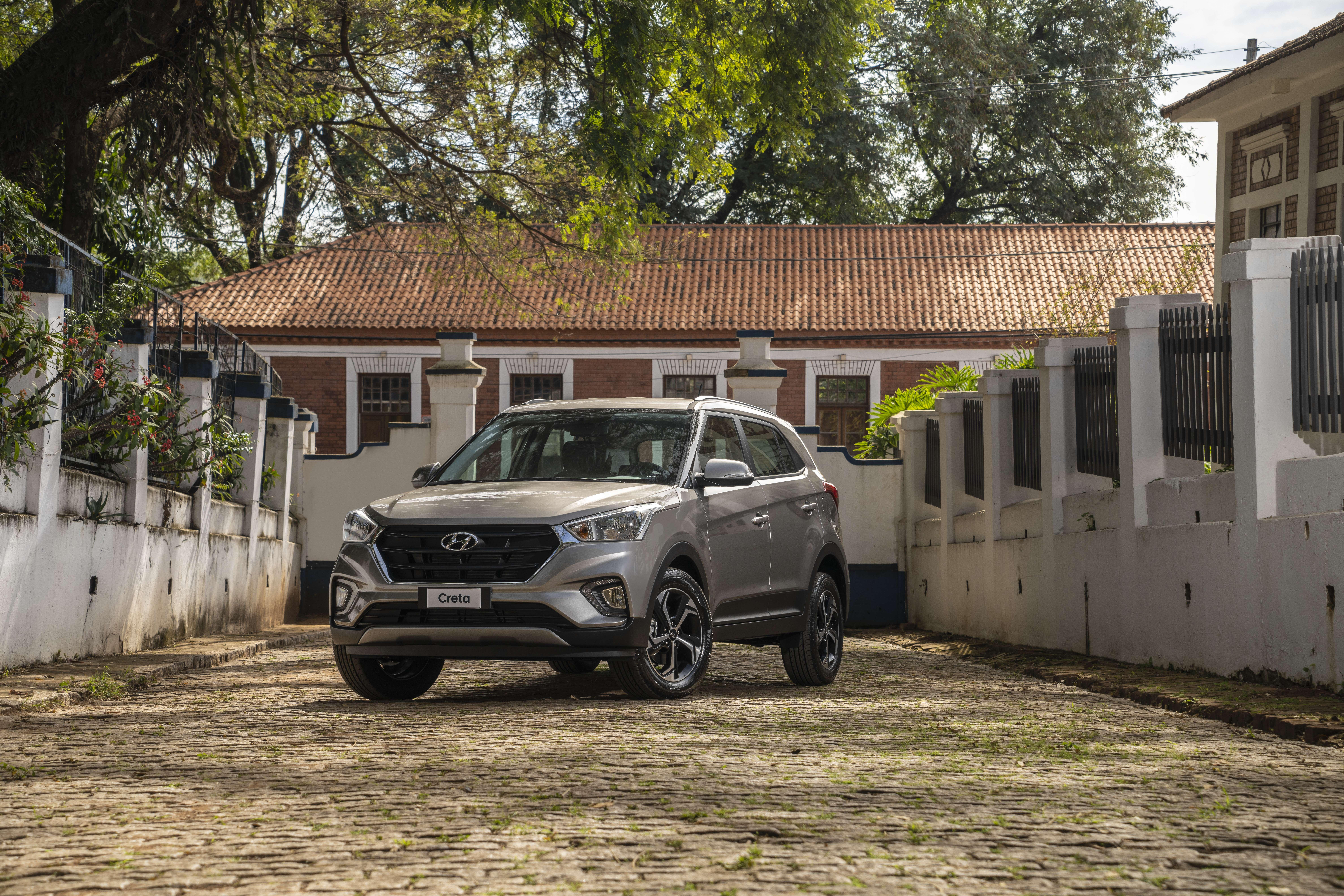 Hyundai lançou nova versão do SUV Creta, com preço abaixo dos R$ 100 mil