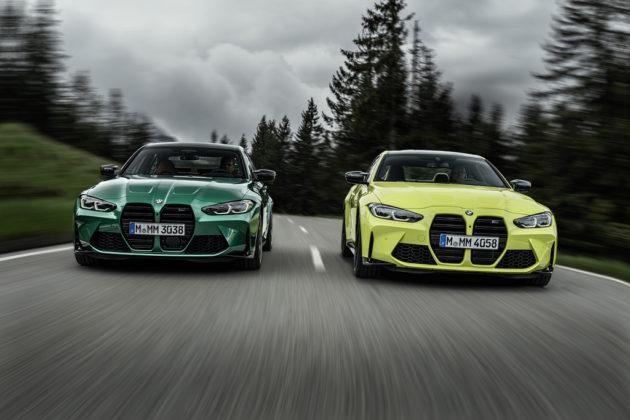 Detalhes BMW M3 e M4