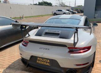 Operação Super Trunfo da PF de combate ao contrabando de carro de luxo apreendeu Porsche e Ferrari