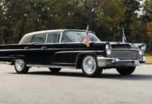 Lincoln Executive Continental Mark V 1960