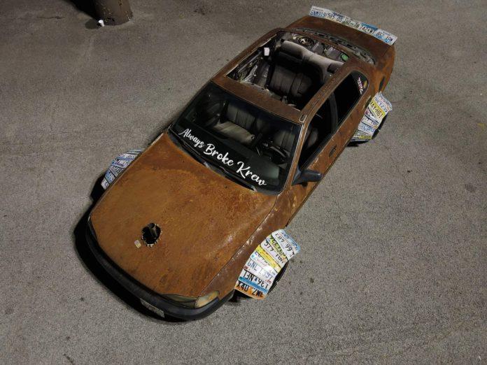 Toyota Camry XV10 enferrujado