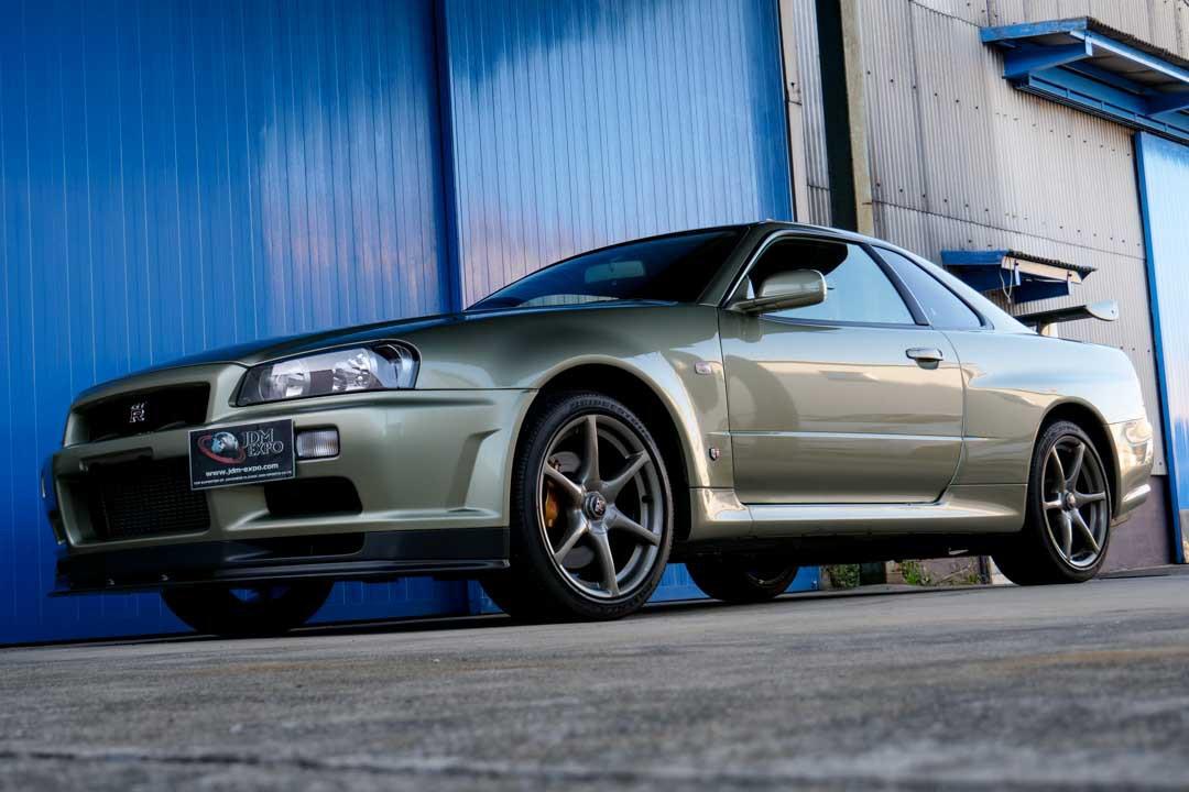 Com 18 Anos E So 362 Km Rodados Nissan Skyline Gt R Esta A Venda Por Us 485 000 Motor Show
