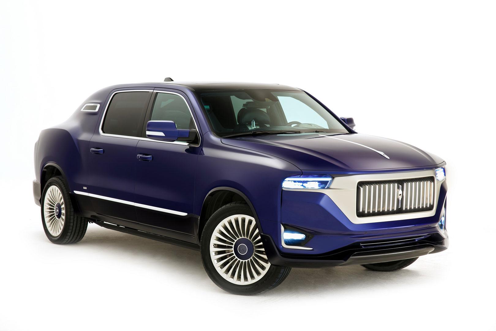 Aznom Palladium é uma limusine nascida da picape RAM 1500 - Motor Show