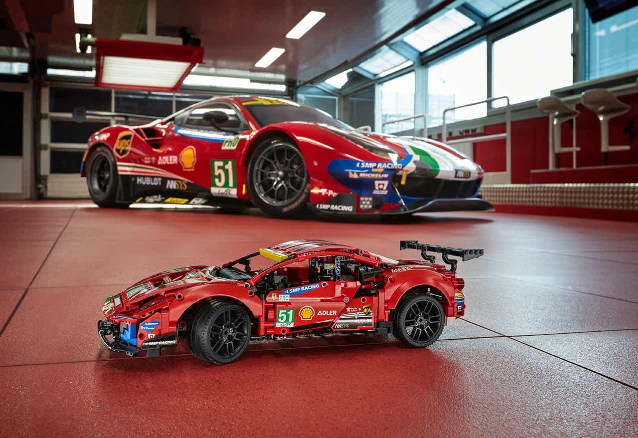 Ferrari 488 Gte E O Novo Kit Da Linha Lego Technic Motor Show