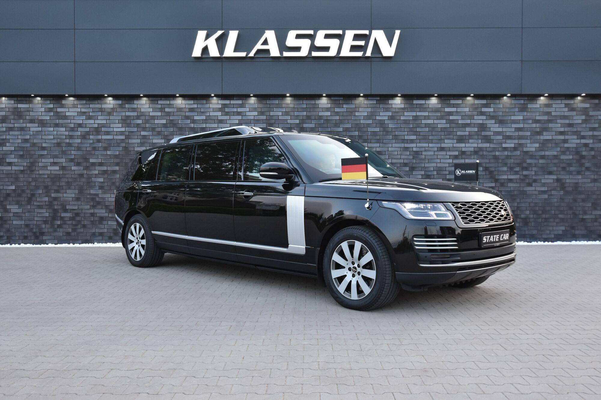 Range Rover Limusine Custa Mais De R 7 Milhoes Motor Show